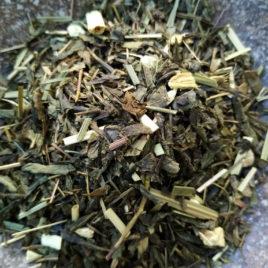 Thé vert de l automne