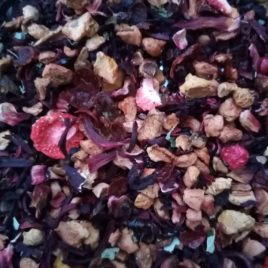 Tisane aux fruits rouges